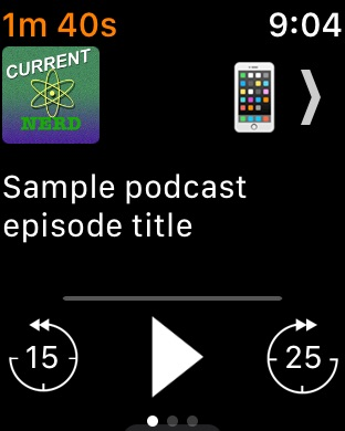 iCatcher! Podcast Player Screenshot