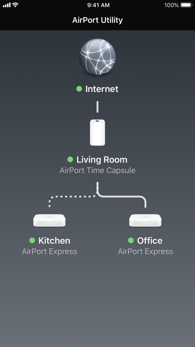 AirPort Utility Screenshot