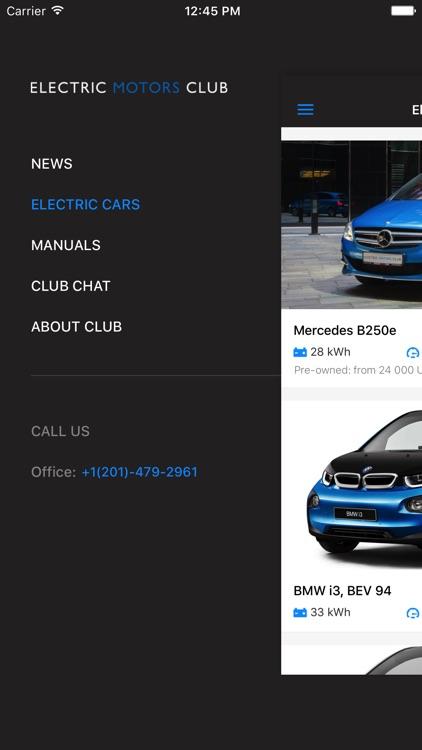 Electric Cars Compare Specs Screenshot 4