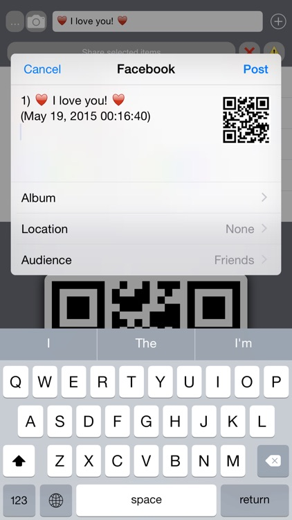 Bar / QR Code Maker screenshot-4