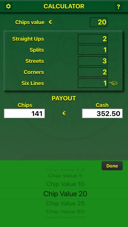 Casino Calculator