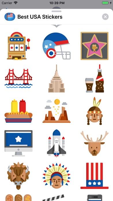 Best USA Stickers screenshot 3
