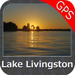 Lake Livingston Texas GPS fishing map offline