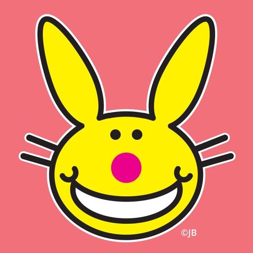 It's Happy Bunny Animated Stickers
