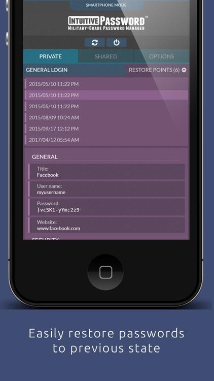Intuitive Password® screenshot-3