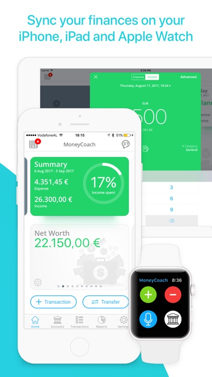 MoneyCoach Plus - Expense Tracker, Bill Manager screenshot-4