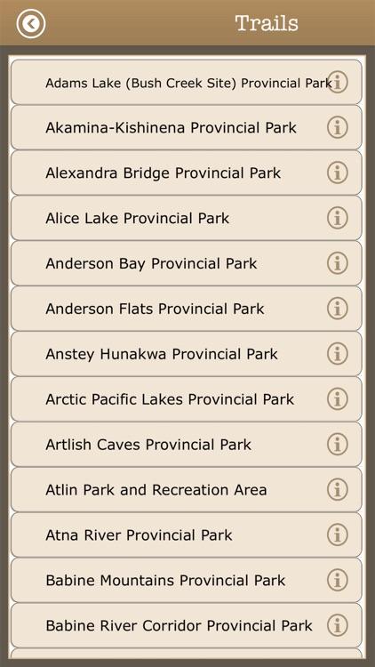 Canada - Camping & Trails,Park screenshot-3