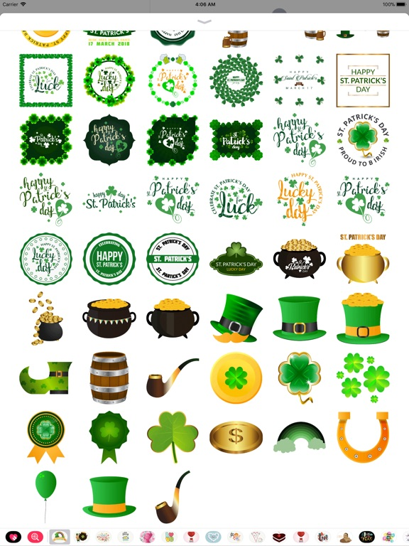 St.Patrick's Day Sticker screenshot 9