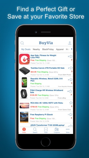 Buyvia best price compare on the app store buyvia best price compare on the app store fandeluxe Images