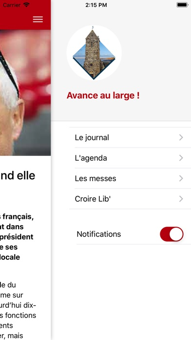 Screenshot for Avance au large in United States App Store
