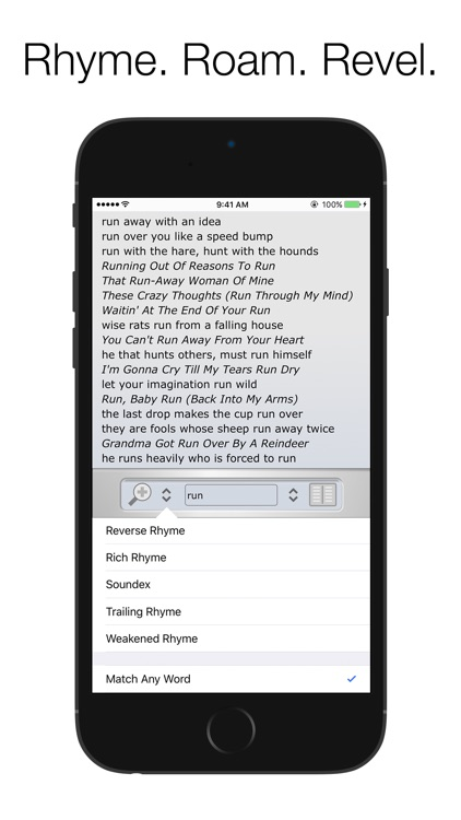 Rhyme Genie Rhyming Dictionary screenshot-4