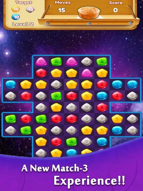 Diamond Cruch - Gems Game screenshot 5