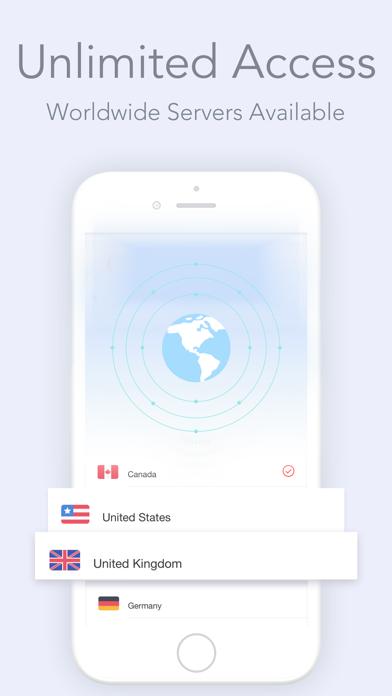 Hotspot VPN 360 Unlimited data Screenshots