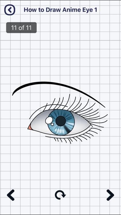Draw Anime Eyes screenshot-3