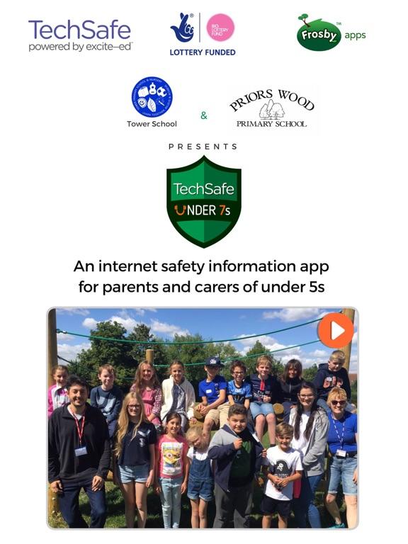 Ipad Screen Shot TechSafe - Under 7s 0