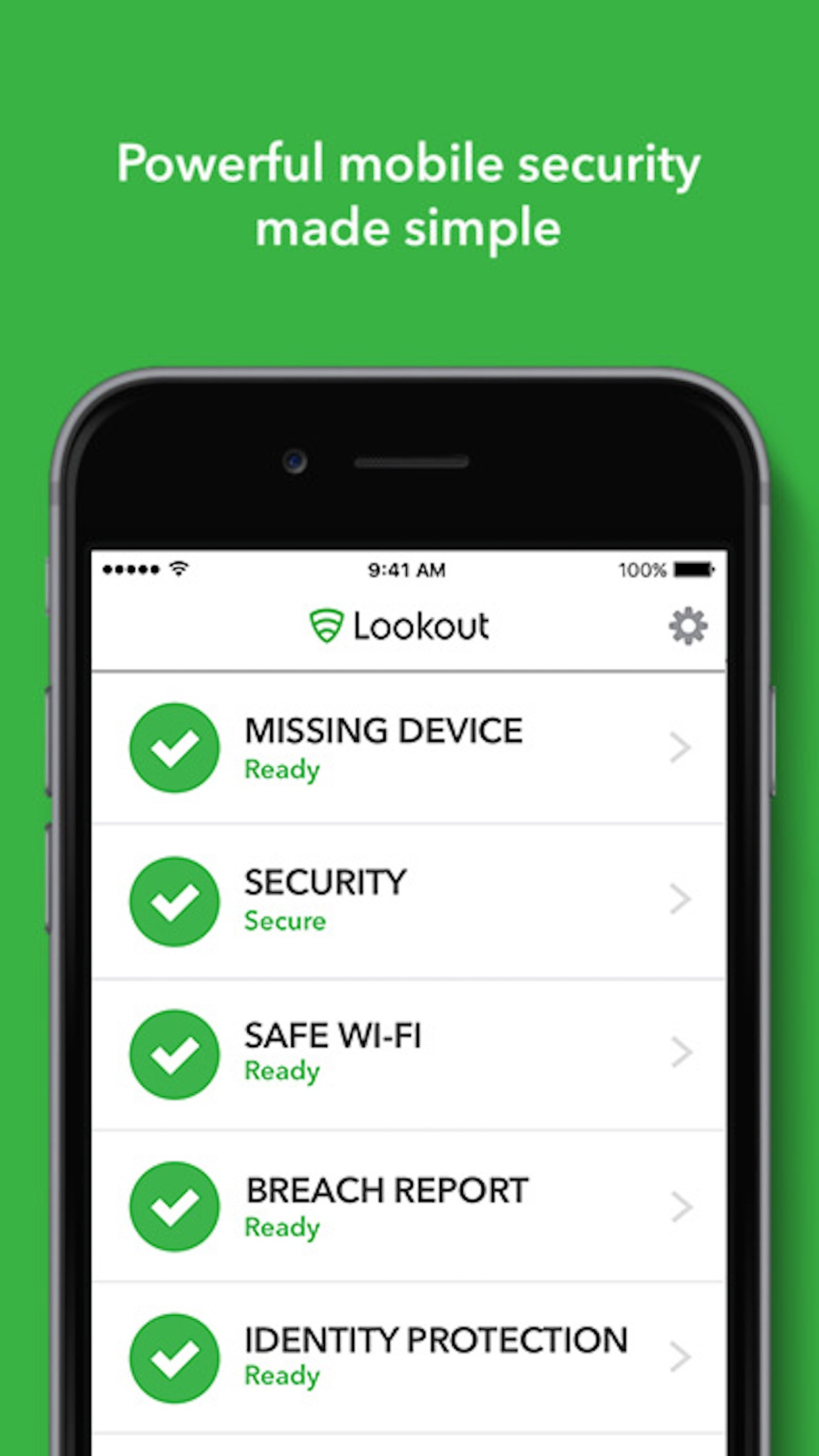 Lookout Screenshot