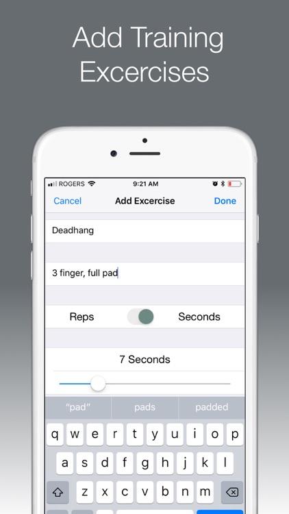 ClimbFit screenshot-3