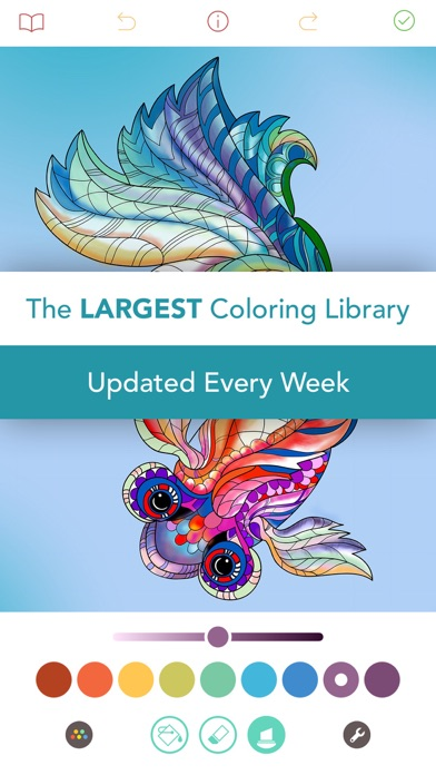 Pigment - Adult Coloring Book for Windows