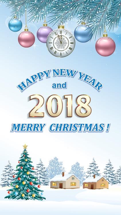 Happy New Year Stickers 2018
