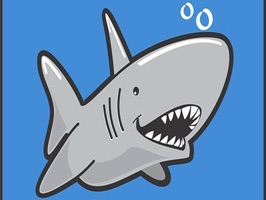 With this sticker extension, you can have fun with Sharks