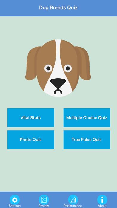 Dog Breeds Quizzes screenshot one