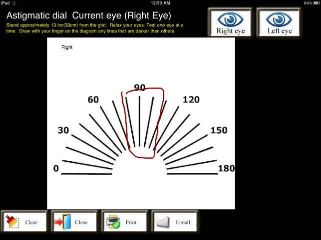 how to take a screenshot on iphone 5 eyetests pro on the app 21048