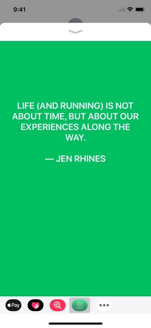 MilePost - Quotes for Runners Screenshot