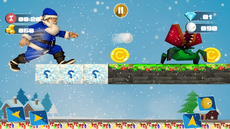 Christmas Santa Run Game 2017 screenshot-3