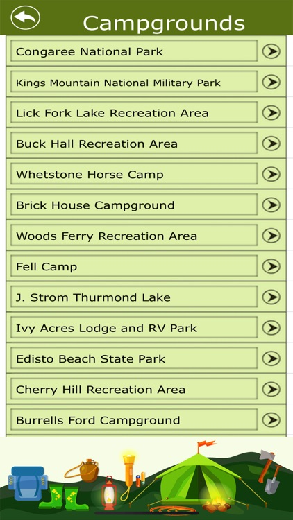 Camp & Trails - South Carolina screenshot-3