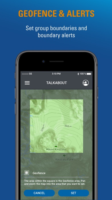 Motorola Talkabout Screenshot on iOS
