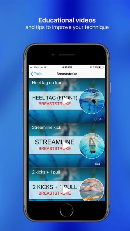 MySwimPro screenshot-4