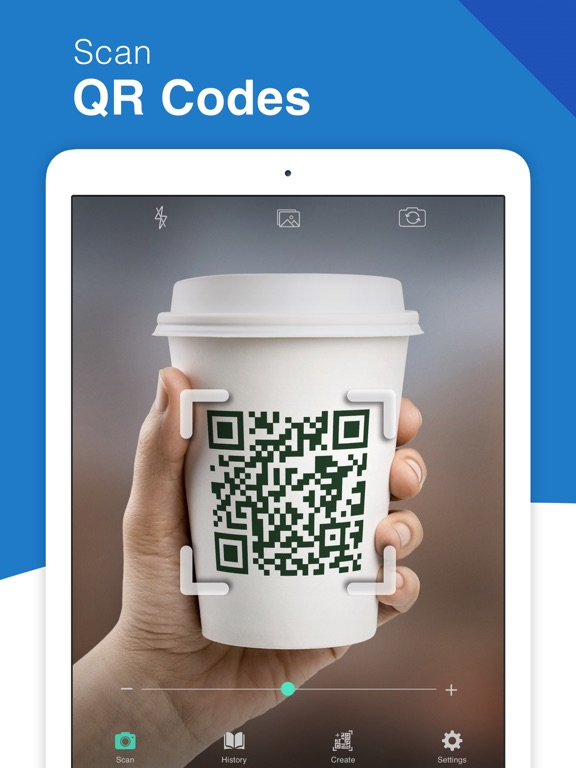 QR Code Reader  - QrScan+ Screenshots