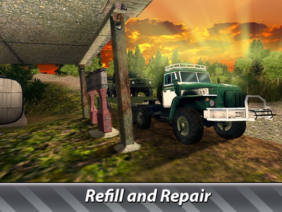 Cargo Trucks Offroad Driving screenshot 8