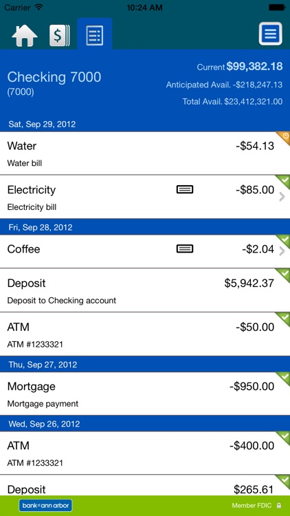 BOAA Business Mobile Banking screenshot-3