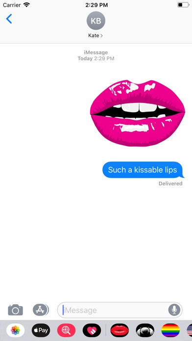 Screenshot for Lips - Fun Lips! in United States App Store