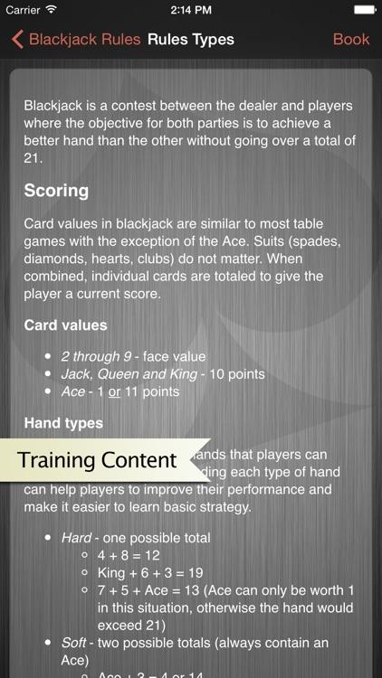 Blackjack Trainer - Casino Strategy and Practice screenshot-4