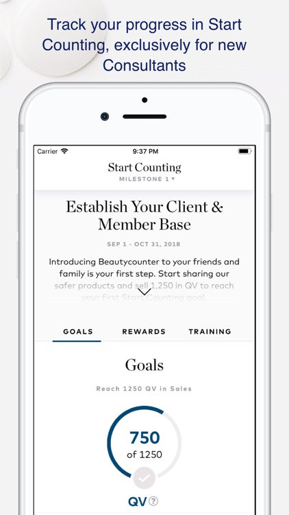 My Counter App - Beautycounter