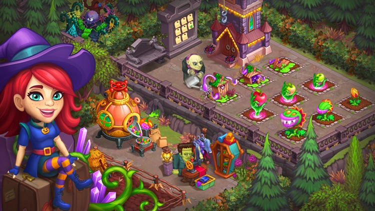 Monster Farm: Happy Halloween screenshot-7