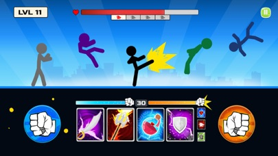 Stickman Fighter : Death Punch