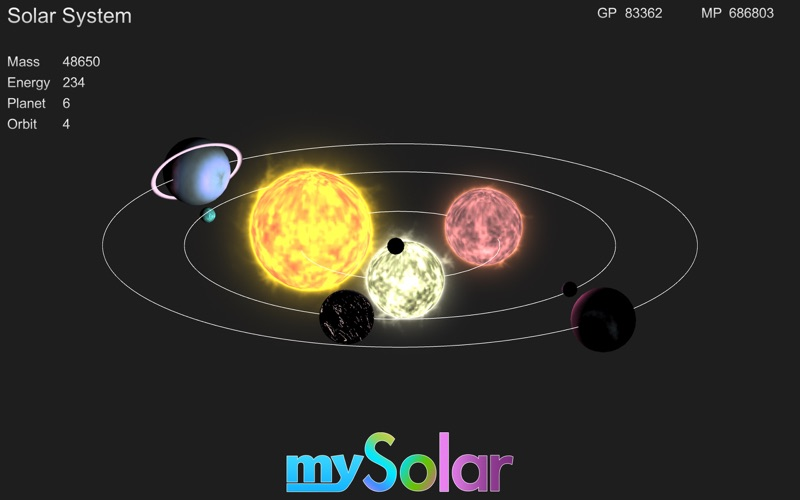 mySolar - Build your Planets screenshot 1