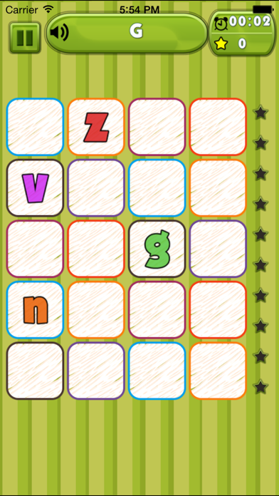 Spanish Alphabet Find screenshot three