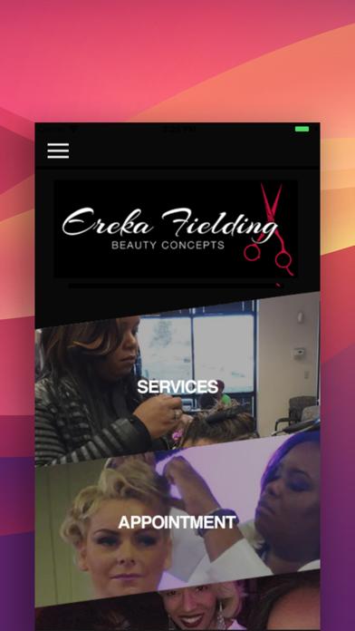 Ereka Fielding Beauty Concepts screenshot two