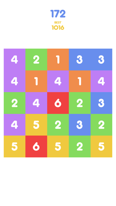 Number Tap - Merge Blocks screenshot two