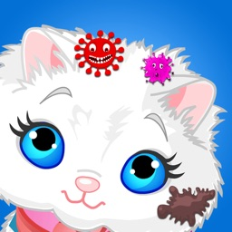 Messy Animal - Pet Vet Care and dress up puppy and kitty