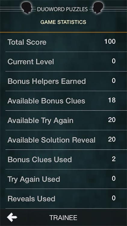Duoword Puzzles screenshot-4