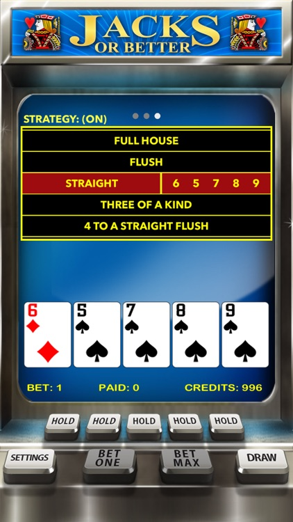 Video Poker Casino - Card Game screenshot-3