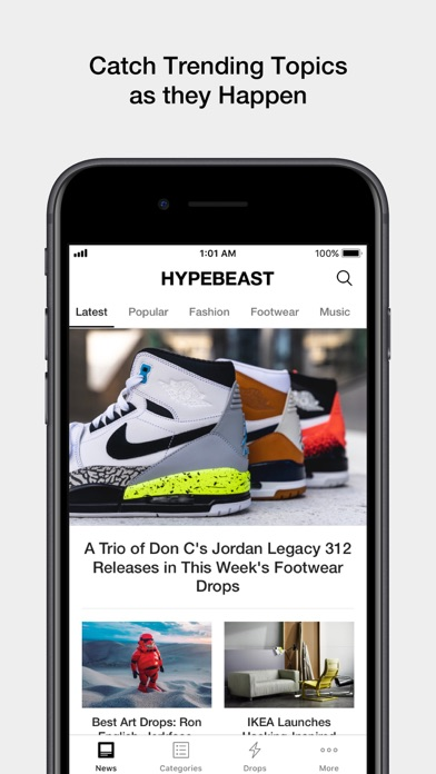 HYPEBEAST for Windows