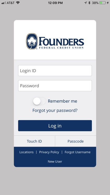 Founders FCU – Mobile Banking