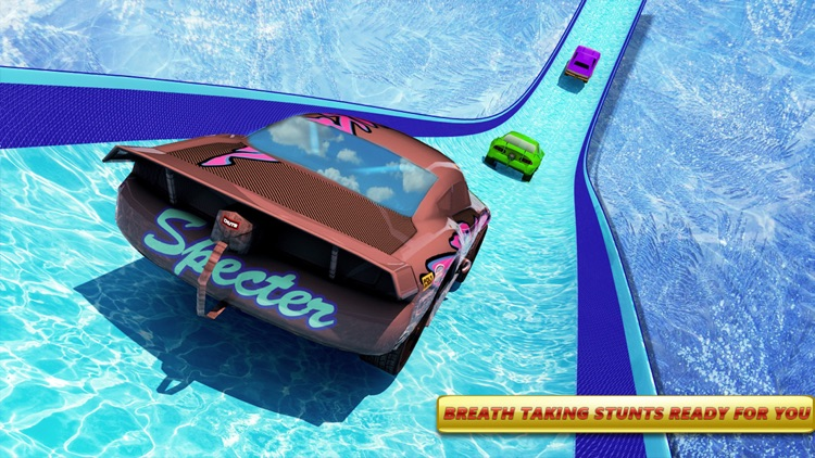 Mega Ramp Ice Racing Car Stunt screenshot-3