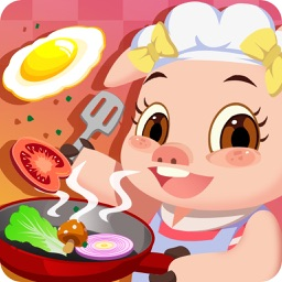 宝宝小厨房-三只小猪